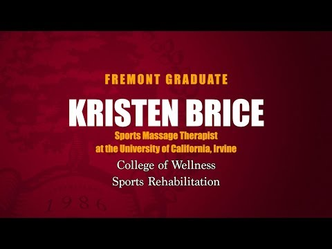Fremont College Sports Thearpy Graduate Kristen Brice