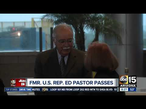 Former Arizona Congressman Ed Pastor passes away