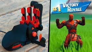 I Tried A BANNED Mouse on Fortnite (aimbot)