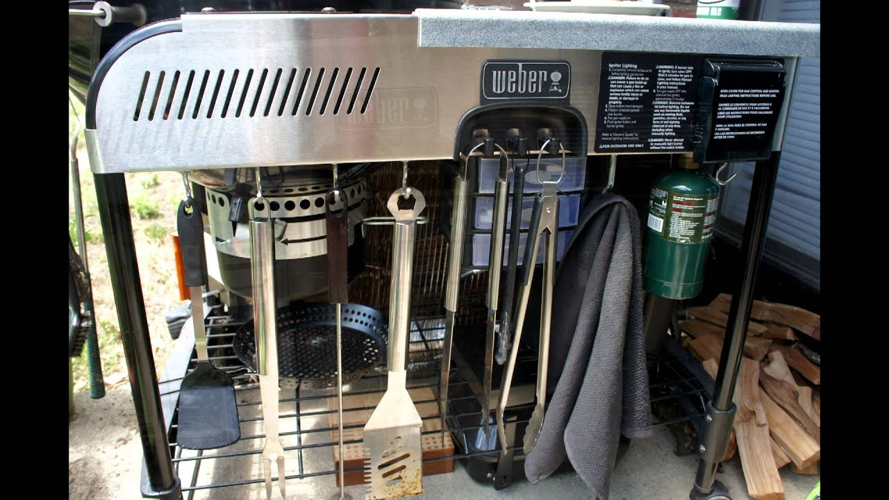 Weber Performer Charcoal Grill Modifications With