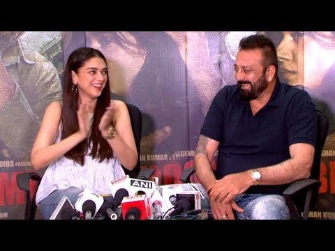 Sanjay Dutt's FUNNY Moments At Bhoomi...
