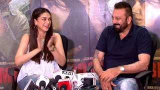 Sanjay Dutt's FUNNY Moments At Bhoomi Movie Promotions