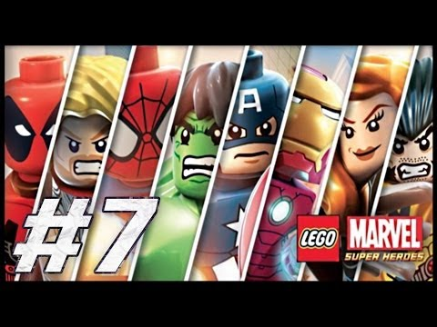 Lego Marvel Super Heroes Full Movie
