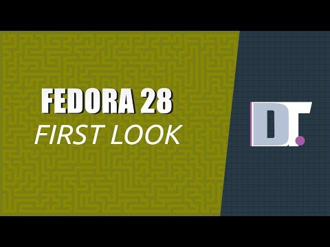 Fedora 28 Workstation Install and Review