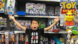 TOY STORY 4 MOVIE || TOY STORY 4 TOYS TOY HUNT at WALMART