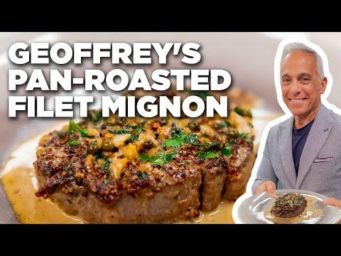 Geoffrey Zakarian's Pan-Roasted Filet Mignon | The Kitchen | Food Network