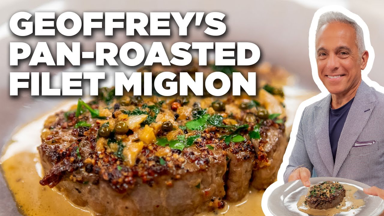Download Geoffrey Zakarian's Pan-Roasted Filet Mignon | The Kitchen | Food Network
