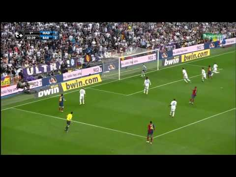 Real Madrid 2 x 6 Barcelona - 02/05/2009 La Liga