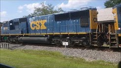 Crazy Railfanning in Plant City, FL. Power Move and More! (9/24/16)
