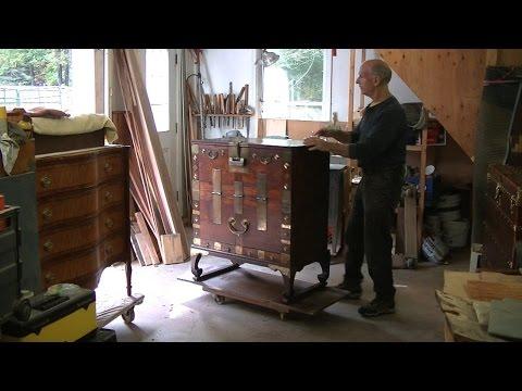 Restoring a Korean Chest - Thomas Johnson Antique Furniture Restoration