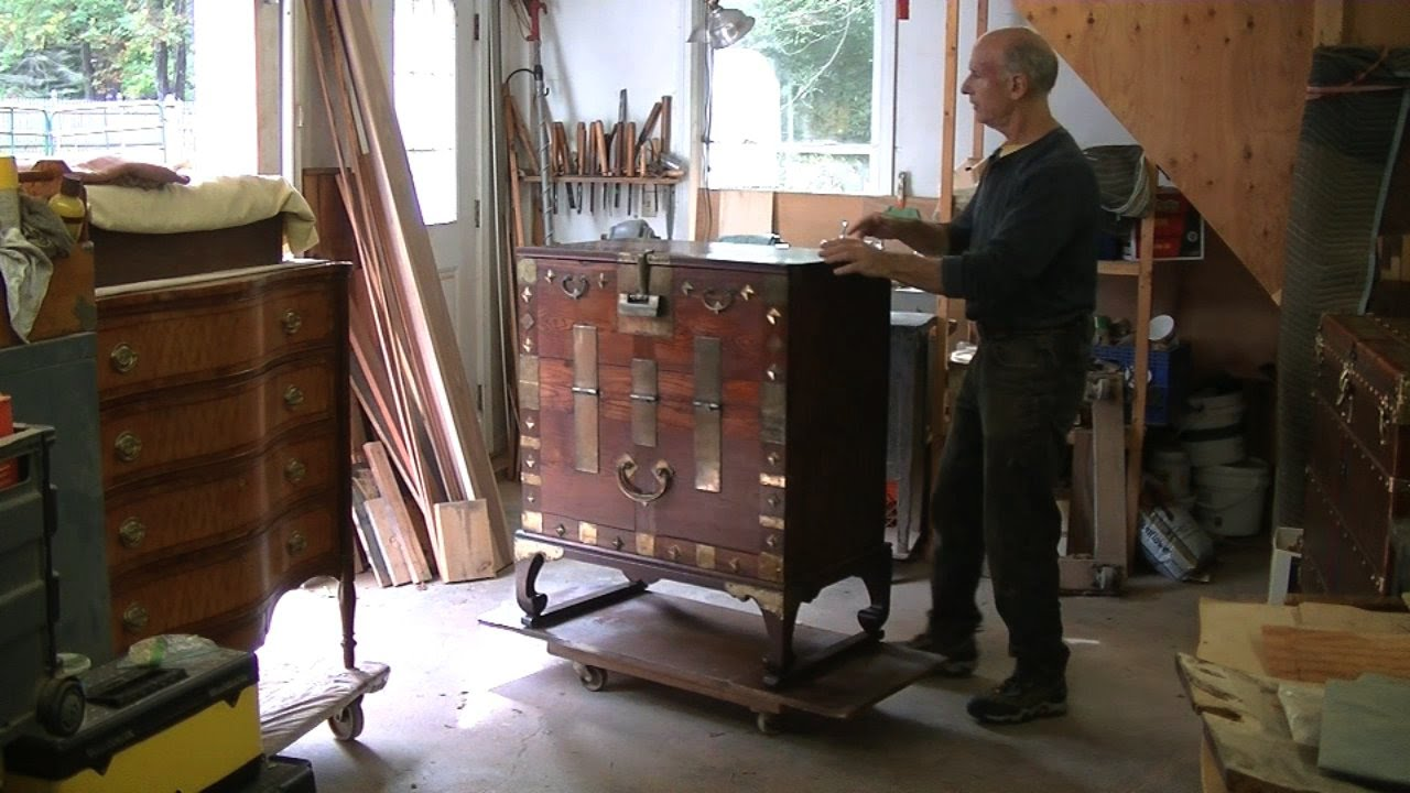 Restoring a Korean Chest - Thomas Johnson Antique Furniture Restoration -  YouTube - Restoring A Korean Chest - Thomas Johnson Antique Furniture