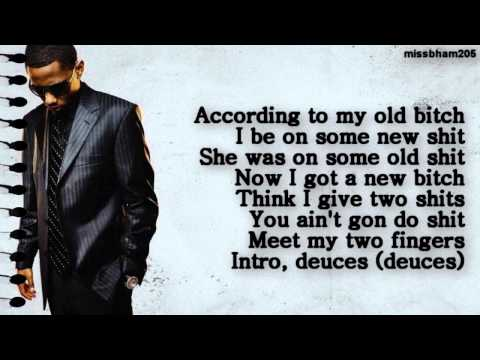 Chris Brown Drake TI Kanye West Fabolous Andre 3000 Deuces Remix lyrics