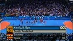 Deutschland - Spanien Olympia 2004 Viertelfinale