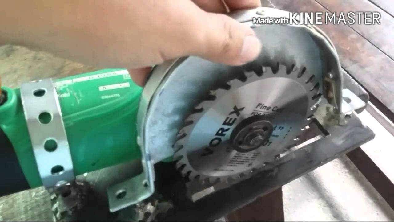 Circular Saw For 4 Quot Angle Grinder Youtube