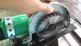 Circular saw for 4