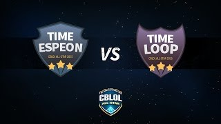 CBLoL ALL-STAR 2015 - Time Espeon x Time Loop