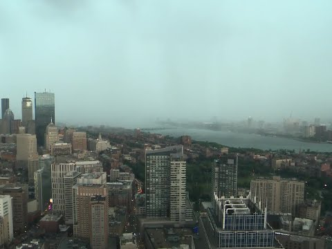 Mikey V - Check Out This  Timelapse Of The Crazy Thunderstorm That Just Happened!