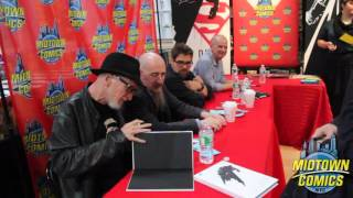 Frank Miller and Dark Knight III signing at Midtown Comics
