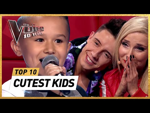 The CUTEST Blind Auditions in 10 years The Voice Kids