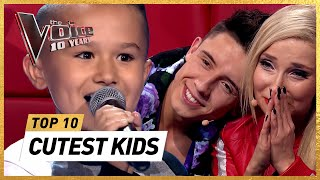 Download lagu The CUTEST Blind Auditions in 10 years The Voice Kids