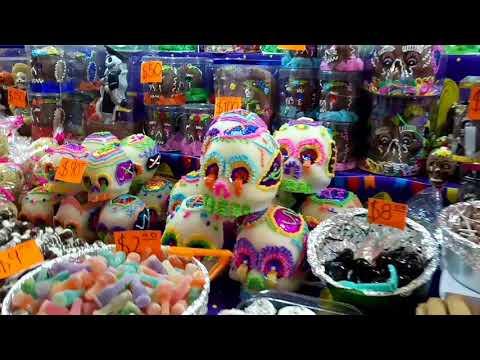 Feria del alfeñique.👻 Vlog #6