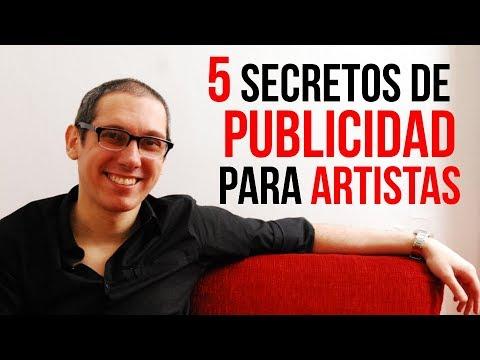 5 SECRETOS de PUBLICIDAD para ARTISTAS