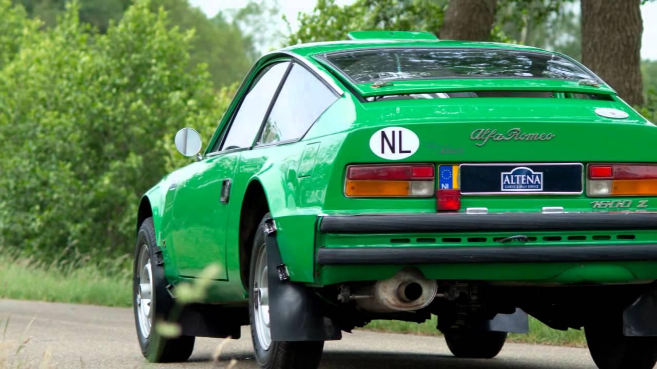 1973 Alfa Romeo 1600 Junior Zagato rally car (HD photo video with ...
