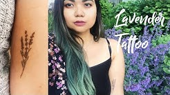 GRWM: Getting My Lavender Tattoo