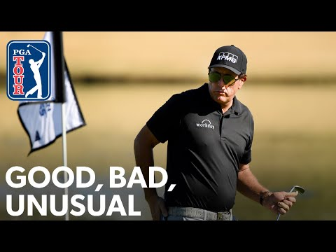 Lefty's unlucky lip-out, McIlroy's hole-out, Hubbard's unusual putting stroke