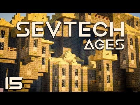 SevTech: Ages EP15 Twilight Forest Naga Boss + Twilight Lich Boss