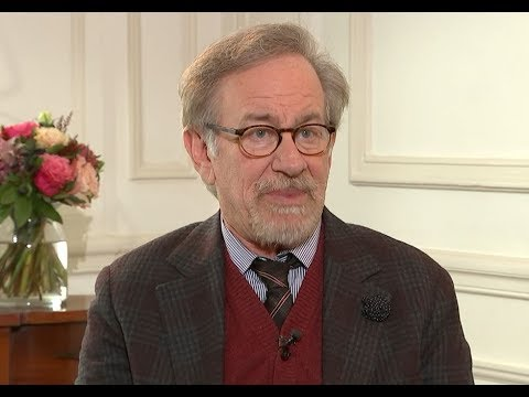 Steven Spielberg on the threat of Netflix, computer games and new film Ready Player One  ITV
