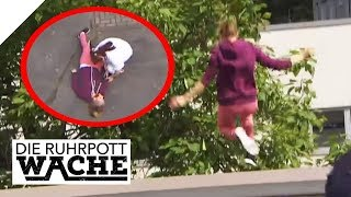 Berauscht vom Dach gesprungen: Drogenkonsum in der Höhe | Can Yildiz | Die Ruhrpottwache | SAT.1 TV