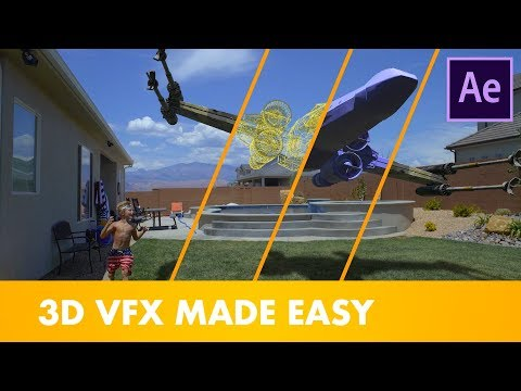 HOW TO ADD 3D VFX TO YOUR MOVIES! (After Effects + Element 3D Tutorial)
