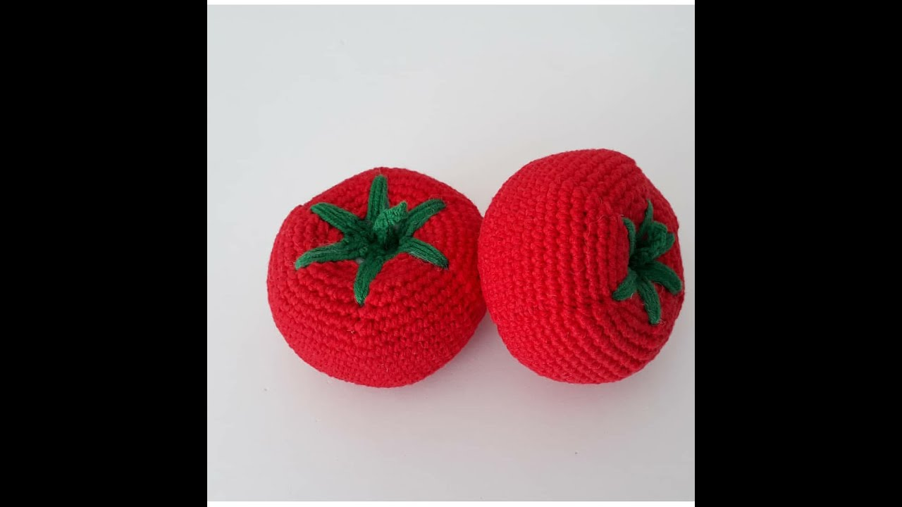 Amigurumi domates modeli