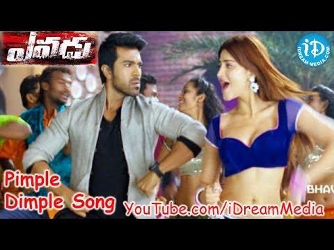 Yevadu Movie Songs - Pimple Dimple Video Song || Ram Charan, Shruthi Haasan, Amy Jackson || DSP