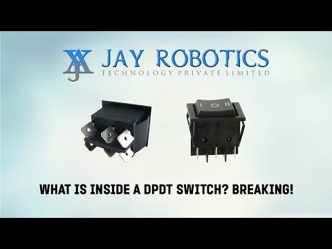 19. What is inside a DPDT Switch?