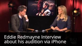 Les Miserables -eddie Redmayne Audition Via Iphone