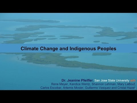 Climate Change & Indigenous Peoples