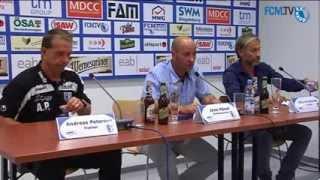 3. Spieltag 1. FC Magdeburg vs. VfB Germania Halberstadt - Pressekonferenz