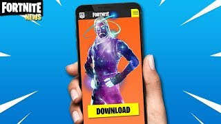 SKIN ANDROID GALAXY EXCLUSIVE FOR ALL NOT FORTNITE BATTLE ROYALE?!