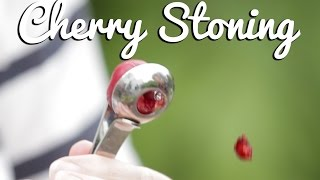 Cherry Stoning (Tired and Tested!) - Crumbs