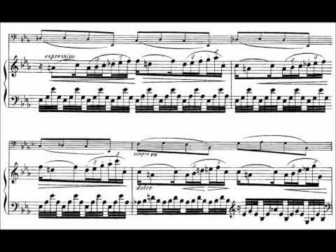 Gabriel Fauré: Élégie Op. 24 (Sheet Music for Cello and Piano)