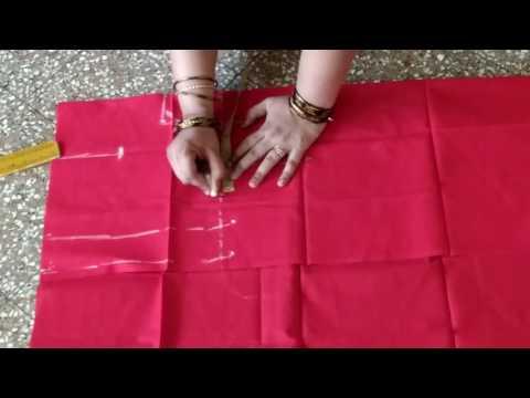 Blouse Cutting In Kannada