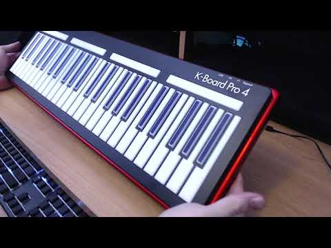 Keith McMillen Instruments - K-Board Pro 4 - Unboxing & First Impressions