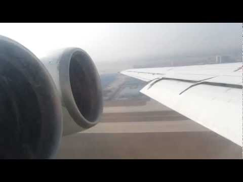Air Koryo Ilyushin IL-62M P-881 Engine Start & Takeoff, Beijing - Window View