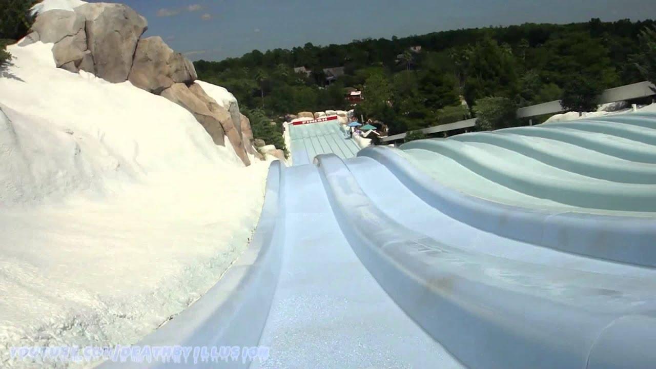 Toboggan Racers Mat Racer Slide Hd Pov Blizzard Beach