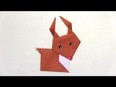 簡単 折り紙 トナカイ 折り紙 簡単 : youtube.com