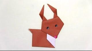 折り紙で作るかわいいトナカイの折り方です。 It is a lovely reindeer ...