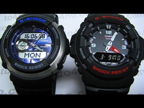 Casio G-100 vs Casio G-300
