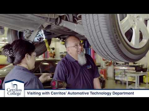 Cerritos College Automotive Career Fast-Track Program